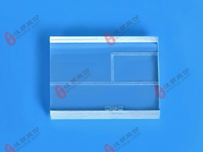 Glass laminar flow microfluidic chip