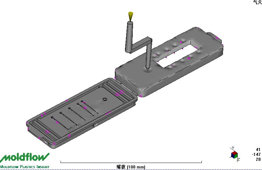 硬质聚合物芯片开模注塑批量加工