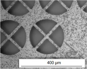 采用光敏玻璃加工的复杂结构
