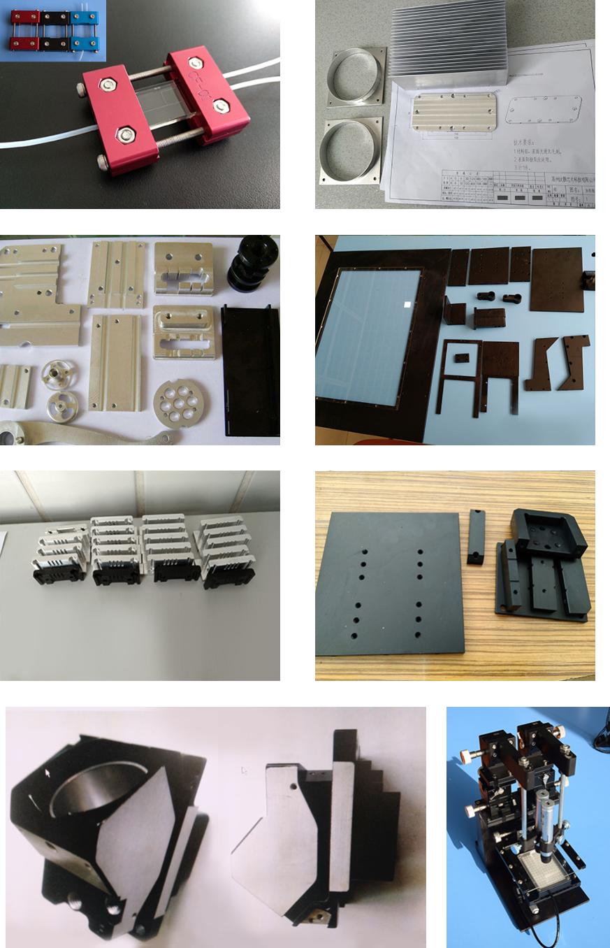 汶颢微流控分析芯片数控CNC加工工艺使用夹具及相关配件耗材