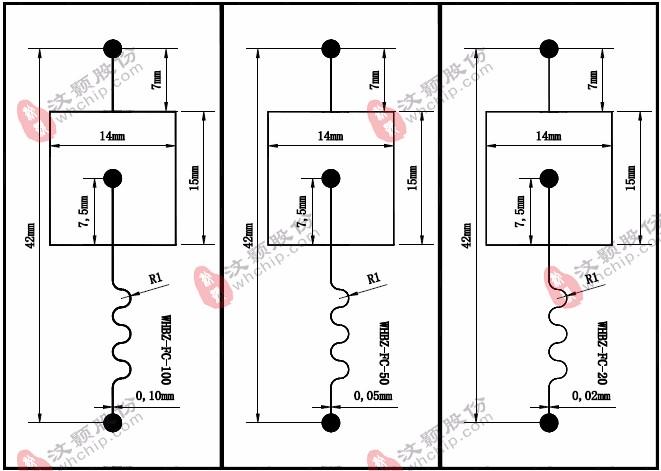 PDMS square microfluidic chip