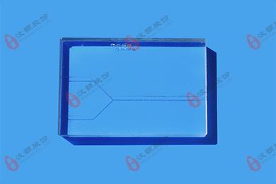 用于两相液体接触和平行层流间的分子扩散玻璃芯片