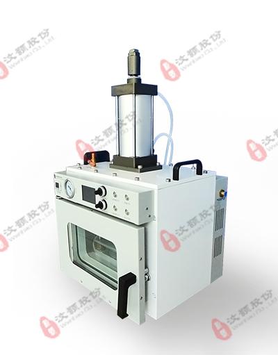PMMA、PC、COC等硬质塑料有机微流控芯片的封合真空热压机|键合机
