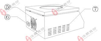 汶颢烘胶台/烤胶机特征图解2