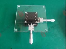 光学微调架组装步骤1