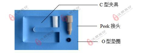 微流控硬质芯片C型夹具 装配材料