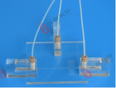 微流控硬质芯片C型夹具 组装步骤2