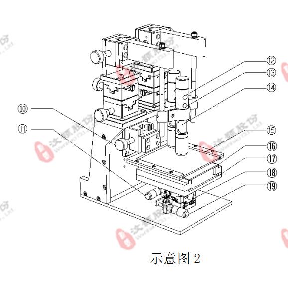 微流控PDMS、PMMA、玻璃等芯片机械对准仪器设备平台