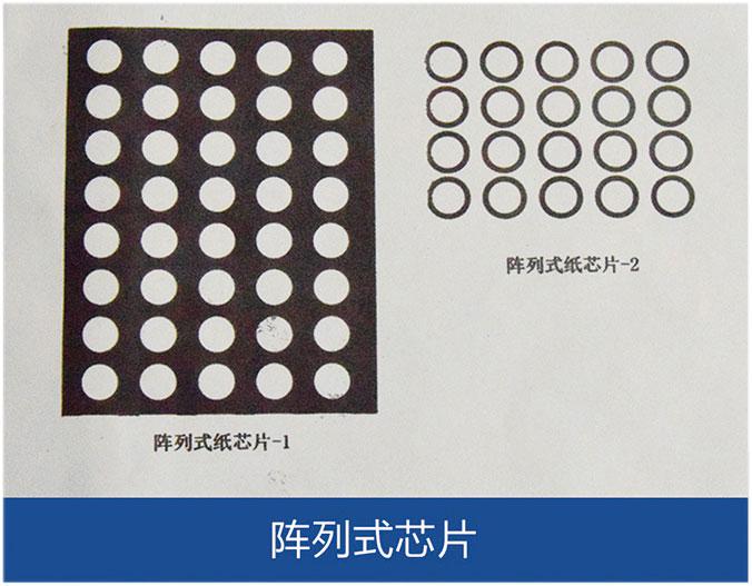 阵列式纸芯片