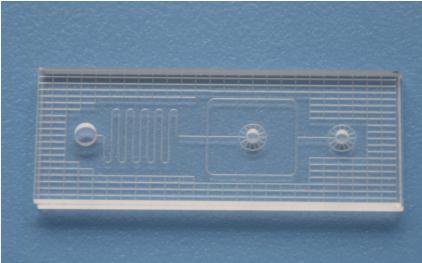 汶颢微流控玻璃芯片设计成型效果图2