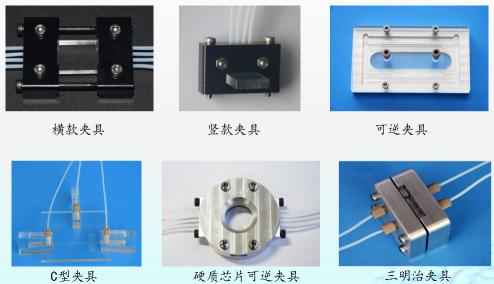 汶颢微流控芯片测试夹具