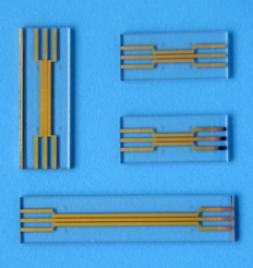 汶颢微流控镀金/铂芯片成型效果图