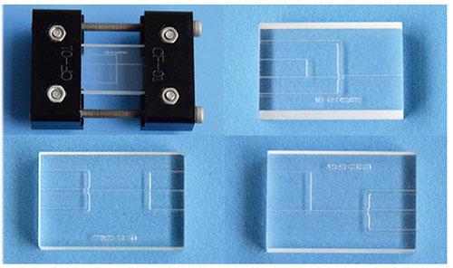 汶颢股份微流控芯片及芯片测试夹具
