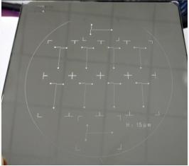 光刻胶模具加工工艺 - 铬版