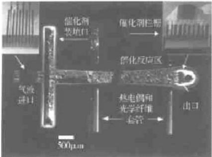 气液固三相催化微反应器-充填活性炭催化剂的微填充床反应器