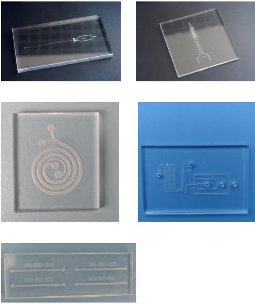 汶颢股份数控CNC加工微流控芯片产品图片