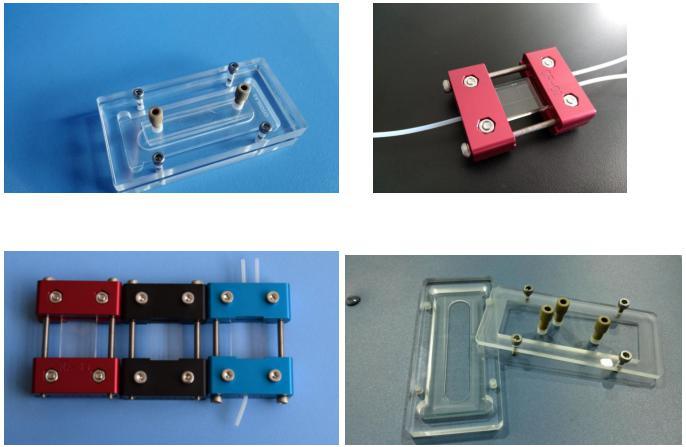 汶颢股份微流控芯片数控CNC加工工艺芯片夹具产品图片