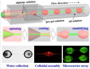 微流控纺丝与乳化技术