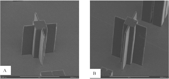 PDMS样品上电铸微模具工艺流程