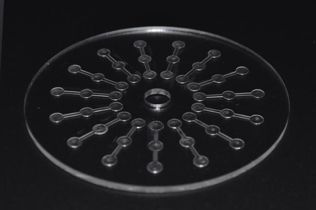 汶颢股份微流控芯片效果图
