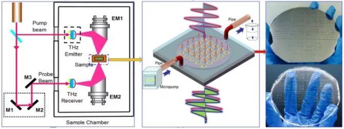 负折射率超材料生化传感器研究
