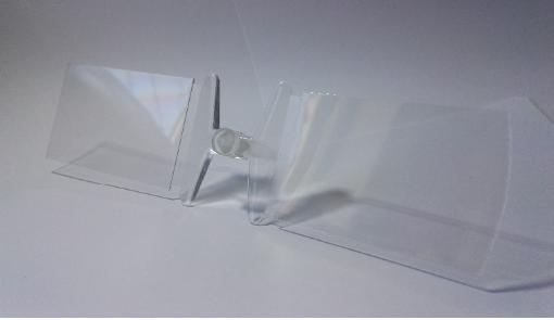 注塑加工制成的微流控芯片基板(COC材质)