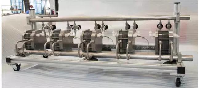 图2碳化硅微通道反应器