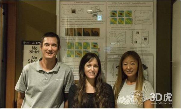 Micro / Bio / Nanofluidics Unit领导者Simon Haward博士