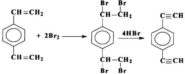 图2芳基乙烯卤化—脱卤化氢法原理