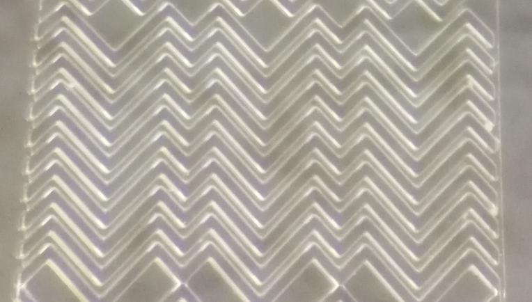 多层SU-8光刻胶硅片模具