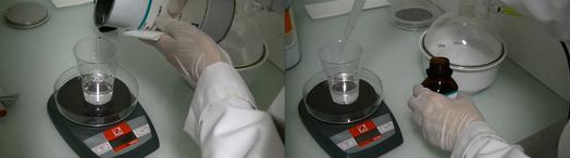 PDMS复制:PDMS和固化剂的比例与混合