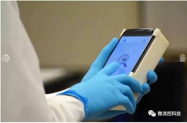 微流控芯片结合智能手机可测试男性生育能力