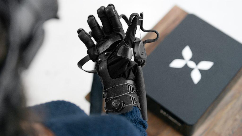微流控技术触觉手套