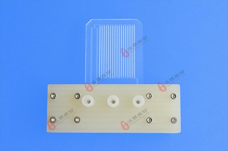 汶颢微反应器与夹具使用效果图