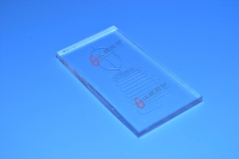 通道弯型化学混合反应合成芯片