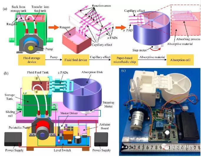 纸基生物芯片系统解构及原理