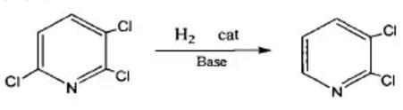 2,3,6-三氯吡啶还原法