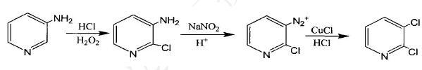 3-氨基吡啶合成法