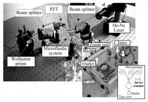 图6微流控SPR生物传感器