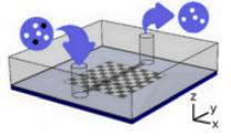 用于微流控颗粒分选的自主微型磁体