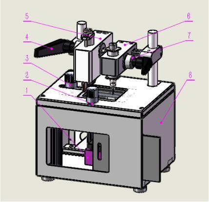 PDMS切割打孔一体机特征图解