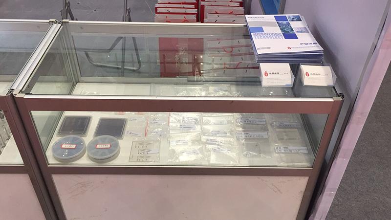 汶颢微流控芯片及模具等相关信息展会现场图