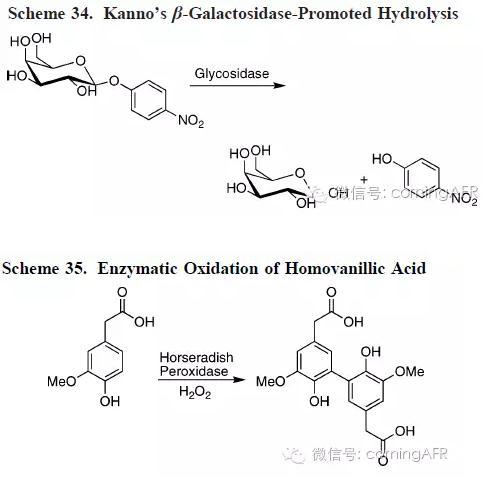 微通道反应器中的酶催化反应