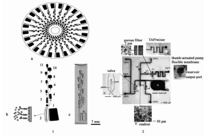 酶联免疫(ELISA) 衍生反应微流控装置[