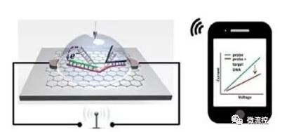 基于石墨烯的SNP检测芯片将信号无线传输到智能手机