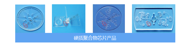 硬质聚合物芯片产品