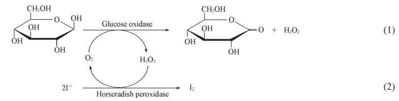 碘化钾反应生成水和碘单质