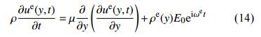 电场驱动下的方程