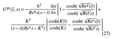 力–电协同驱动流模型的建立2