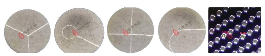 SU-8硅片模具微观图